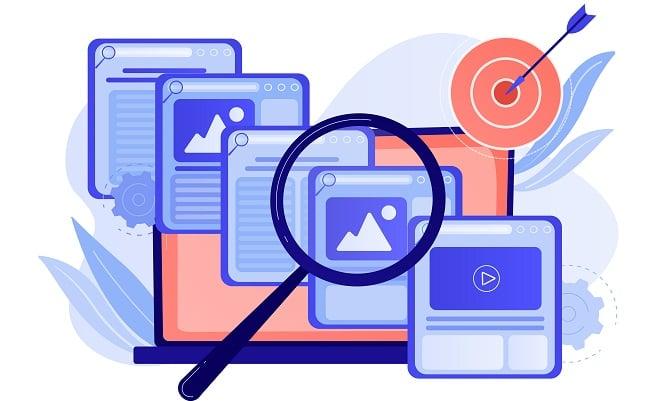 analysing pillar page content